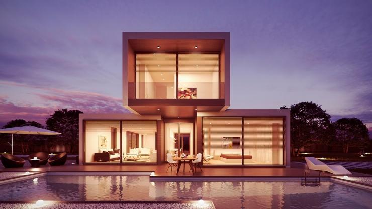 Дизайн дома в различных стилях